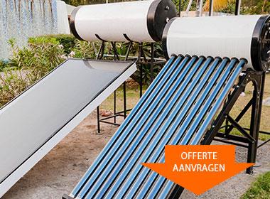Maas Solar zonneboiler installatie
