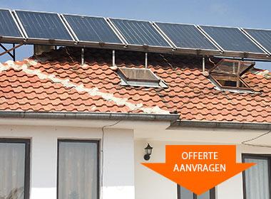 VNP zonneboiler installatie