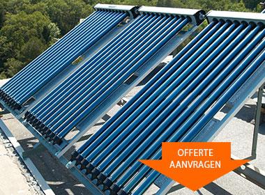 Van Leeuwen zonneboiler installatie