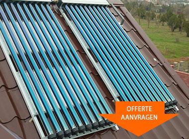 Z.O.N. zonneboiler installatie