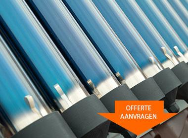 vdMeer zonneboiler installatie